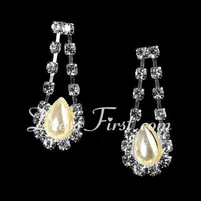Unique Alloy/Pearl With Crystal Jewelry Sets (011027191)