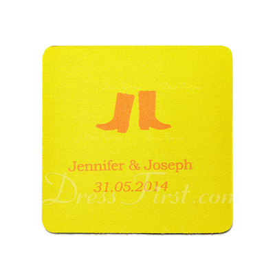 Personalized Shoes Design High Quality EVA Wedding Coasters (Set of 4) (118029938)