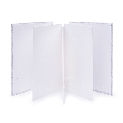 Silver Scroll Faux Pearl Guestbook (101018216)
