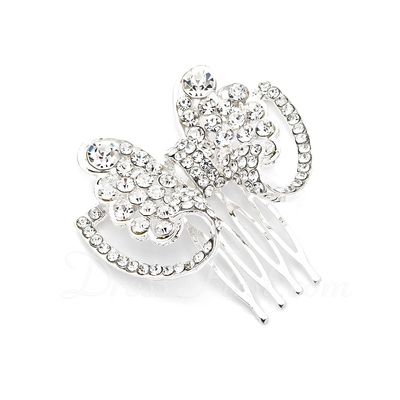 Simple Butterfly Alloy Combs & Barrettes (042017890)