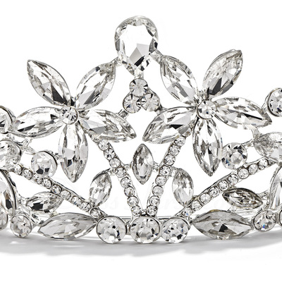 Gorgeous Crystal/Alloy Tiaras (042019220)