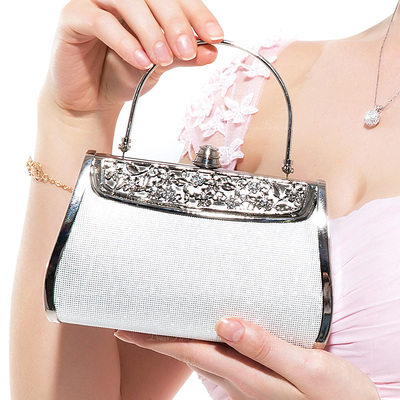 Charming Stainless Steel/PU With Rhinestone Wristlets (012048776)
