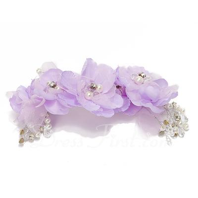 Şık Kristal/Suni İpek Çiçekler (042057599)