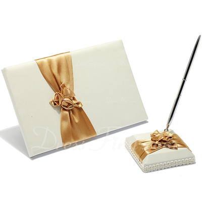 Flowers Design Sash/Petals/Flower Guestbook & Pen Set (101018145)