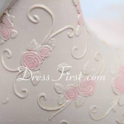 Romantic Moment Resin Wedding Cake Topper (119030550)