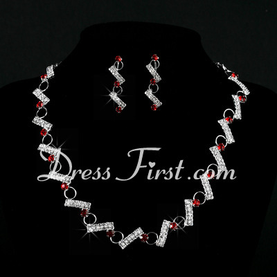 Nice Alloy With Crystal Ladies' Jewelry Sets (011027194)