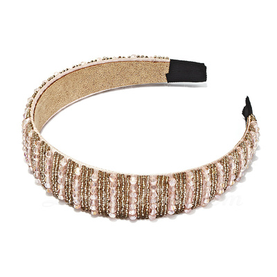 Beautiful Senior Plastic Beads Headbands (042017501)