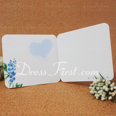Floral Style Side Fold Greeting Cards (Set of 10) (114031177)