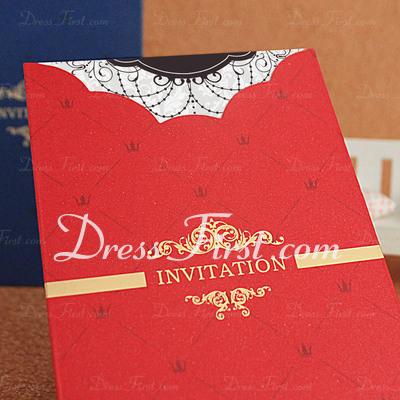Formal Style Wrap & Pocket Invitation Cards (Set of 50) (114033281)