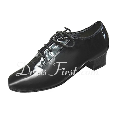Kids' Patent Leather Heels Latin Ballroom Dance Shoes (053013186)