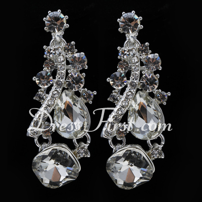 Shining Alloy/Rhinestones Ladies' Jewelry Sets (011027170)