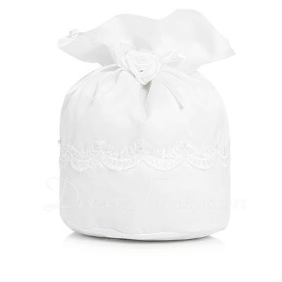 Moda Satin Ile İmitasyon İnci/Lace (012003825)