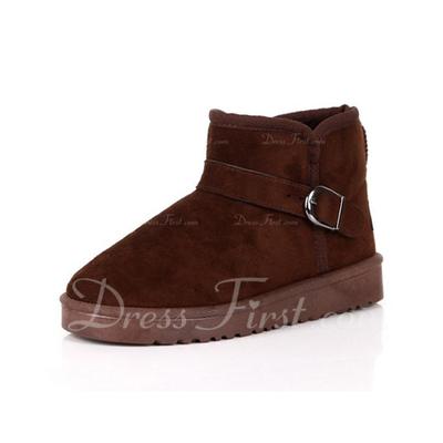 Süet Düz Topuk Ayak bileği Boots Kar Boots ayakkabı (088057560)
