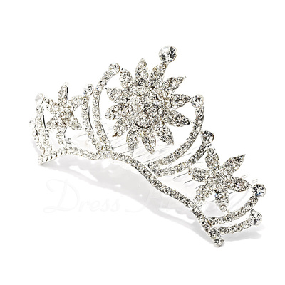 Unique Rhinestone/Alloy Tiaras (042019244)