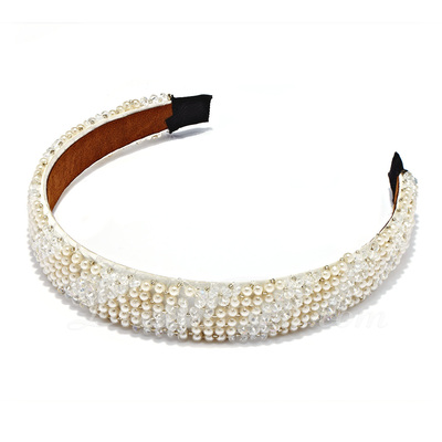 Beautiful Pearl/Acrylic Headbands (042019227)