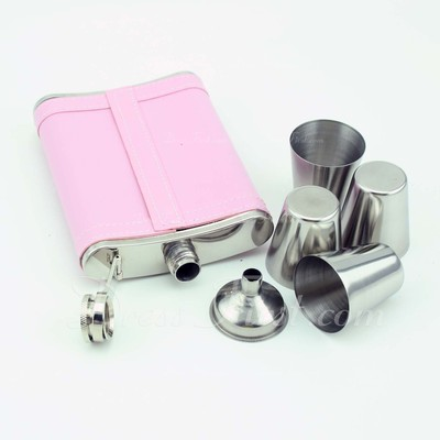 Personalized 6 pieces Stainless Steel Flask (118030680)