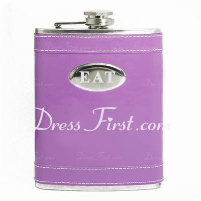 Personalized Simple Stainless Steel Flask (118030668)