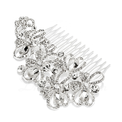 Gorgeous Rhinestone/Alloy Combs & Barrettes (042026835)