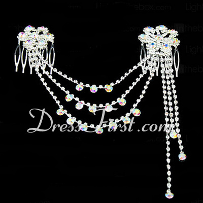 Special Rhinestone/Alloy Combs & Barrettes (042024275)