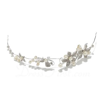 Amazing Alloy/Pearl Tiaras/Headbands (042055855)