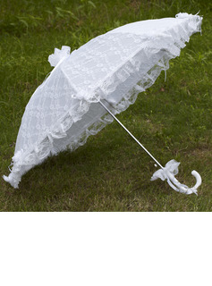 Delicate Lace Wedding Umbrellas