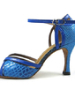 Women's Leatherette Heels Sandals Latin With Buckle Dance Shoes (053013163)