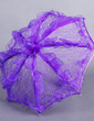 Mysterious Regency Lace Wedding Umbrellas (124037497)
