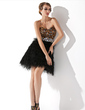 Sheath/Column Sweetheart Short/Mini Charmeuse Feather Cocktail Dress With Beading (016008904)