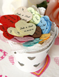 Personalized Heart Shaped Little Petals Paper Confetti (Set of 350 pieces) (118030579)