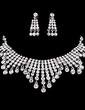 Beautiful Alloy/Rhinestones Ladies' Jewelry Sets (011019277)