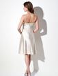 Imperialna Do Kolan Charmeuse Sequined Sukienka na Zjazd Absolwentów (022003357)