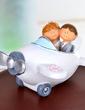 Airplane Resin Wedding Cake Topper (119037335)
