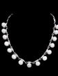 Elegant Alloy/Pearl With Crystal Ladies' Jewelry Sets (011028509)