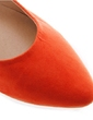 Suede Flat Heel Flats Closed Toe shoes (086039116)