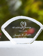Personalized Swan Design Crystal Cake Topper (118030224)