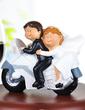 Vehicle Resin Wedding Cake Topper (119037337)