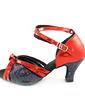 Kadın Suni deri Parlak Sim Topuk Sandalet Latin Ile Ayakkabı Askısı Dans Ayakkabıları (053013526)