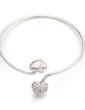 Sweet Heart Alloy With Crystal Women's Bracelets (011033328)