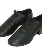 Men's Real Leather Pumps Latin Ballroom Dance Shoes (053013322)