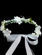 Kids Lovely Artificial Silk Flower Girl's Headwear (042026530)