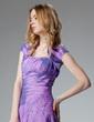 Short Sleeve Taffeta Special Occasion Wrap (013010109)