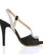 Leatherette Stiletto Heel Sandals Slingbacks shoes (087017924)