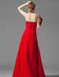 Empire Sweetheart Floor-Length Chiffon Bridesmaid Dress With Ruffle Beading (007001058)
