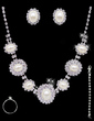 Elegant Alloy/Rhinestones With Imitation Pearls Women's Jewelry Sets (011004470)