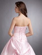 Ball-Gown Strapless Floor-Length Satin Quinceanera Dress With Ruffle Beading (021002290)