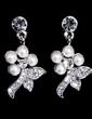 Gorgeous Alloy With Rhinestone/Imitation Pearls Ladies' Jewelry Sets (011028356)
