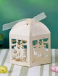 Classic Cuboid Favor Boxes With Ribbons (Set of 12) (050032979)