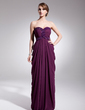 Empire Sweetheart Floor-Length Chiffon Evening Dress With Ruffle Beading Sequins (017014566)