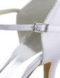 Kadın Satin İnce Topuk Kapalı Toe Pompalar Ile Yapay elmas (047011052)