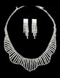 Shining Alloy/Rhinestones Ladies' Jewelry Sets (011029110)